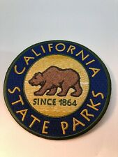 California State Park Patch Ca Ranger Csp Golden Grizzly Bear