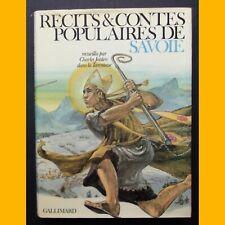 RÉCITS & CONTES POPULAIRES DE SAVOIE Charles Joisten 1980