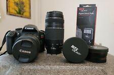 Canon EOS Rebel T6 18MP Digital Camera - Black