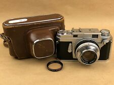 Konica III RF Rangefinder Film Camera w/Hexanon 48mm F/2 Lens - Just Serviced !