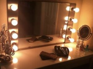 Glam Plug In Vanity lights - Set Of 2 With Wireless  Remote - Full Setup