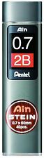 Pentel Ain Stein Mechanical Pencil Lead 0.7mm 2B 40 Leads C277-2B