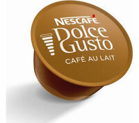 Nescafe Dolce Gusto Cafe Au Lait  coffee pods 20,40,60,80,100