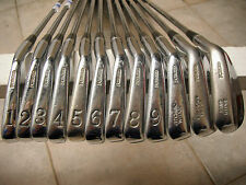 Palmer The Standard 85 Golf Irons 1-P,G,S. Flatter Lie and Stronger Lofts. NICE!