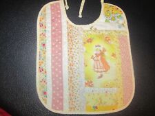 ~Vintage Holly Hobby Quilted Bib.3.99.10 X 8 Inches.