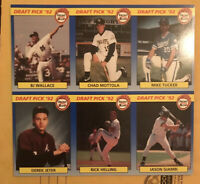 1992 Front Row Derek Jeter #55 Baseball Card Uncut Sheet RARE