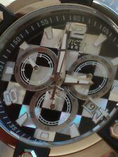 Invicta 63mm Swiss Chrono Grand Octane MOP & Onyx Checkered Flag Racing Watch