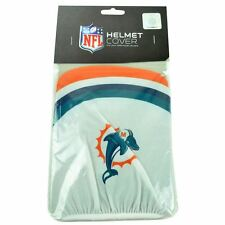 NFL Miami Dolphins Fins Bicycle Open Face Helmet Cover Fan Zone White DN6004