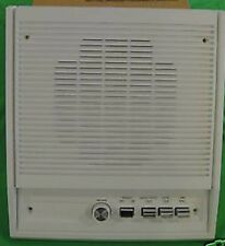 "NIB NuTone IS-408L Adobe White 8"" Indoor Surface Mounted Intercom Speaker"