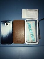 Lot Of 3pc Lifeproof Case,Adopted Case,medge Case for Samsung Galaxy S6