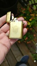 Thorens claw early Swiss made automatic lighter gold CANADIAN FIRE INSURANCE CO
