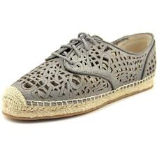 Flat (0 to 1/2 in.) Leather Lace Up Flats for Women