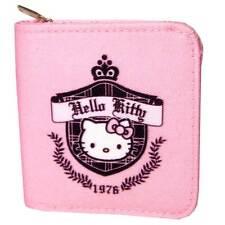 "Nouveau véritable sanrio hello kitty ""prep 1976"" porte-monnaie / sac zippé-Cadeau Idéal"