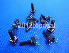 100pcs 6x6x15mm Panel Momentary Tactile Tact Push Button Switch 4 Pin