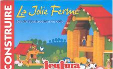 JEUJURA  CONSTRUIRE LA JOLIE FERME NEUF-NEW-NEU