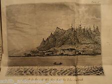 1789 George Dixon Voyage Pacific Northwest America Atlas Maps Cook Hawaii Canada