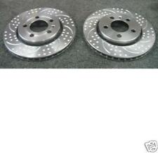 HONDA INTEGRA TYPE R DC5  BRAKE DISC BREMBO DIMPLED GROOVED FRONT REAR