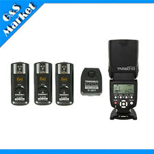 YongNuo YN560III Flash Light+RF-602 2.4GHz Wireless Remote Flash Trigger f Canon