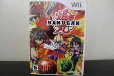 Bakugan Battle Brawlers  (Wii, 2009) *Tested/Complete