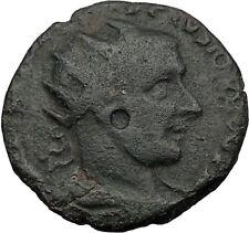 GORDIAN III 238AD VIMINACIUM Moesia  LEGION Ancient Roman Con LION BULL i32554