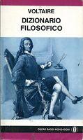 Voltaire = DIZIONARIO FILOSOFICO
