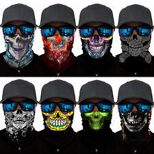 Skull Mask Skeleton Motorcycle Biker Scarf Face Neck Bandana Ski Paintball Snood