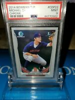 2014 BOWMAN CHROME DRAFT ROOKIE RC MICHAEL CHAVIS PSA 9 #CDP22 REDSOX ROOKIE🔥🔥