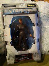 Star Trek Enterprise Broken Bow Sub Commander T'Pol Action Figure Art Asylum