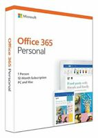 Genuine Microsoft Office 365 Personal PC Or Mac Retail Pack Sealed