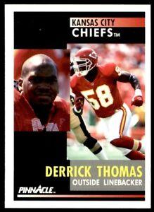 1991 Pinnacle #100 Derrick Thomas CHIEFS NM-MT *496