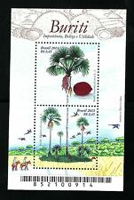 Buriti: Importance, Beauty and Utility 2013 Brazil Stamp fauna and flora