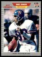 1989 ProSet SILVER #105 Vance Johnson WR Denver Broncos RARE SB XXIV / Arizona