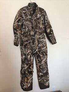Game Winner Coveralls Youth Size XL Advantage Max 4 HD Camo Lined Insulated