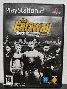 THE GETAWAY BLACK MONDAY SONY PS2 playstation 2 con MANUALE VIDEOGAME