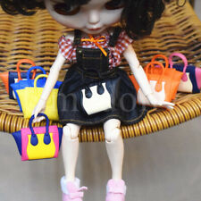 Doll Fashion Handbags Fit For 12 Inch Dolls Plastic Shopping Bags Accessories