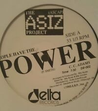 """The Asiz Project - People Have The Power Delta Records Vinyl DR-002 12"""" 33rpm"""
