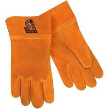 Steiner 0213-M Unlined Cowhide Leather Mig Welding Work Gloves — Size Medium