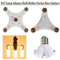 5 in 1/3 in 1 Adjustable Light E27 Lamp Adapter Bulb Holder Socket Base Splitter