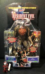 Resident Evil 2 Figur William Birkin G-3 / G-4 Toy Biz Neu OVP MOSC Biohazard