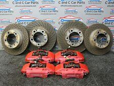 Porsche Boxster S Brembo Brake Caliper Set Front & Rear Drilled Discs 3.2 986