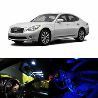 10 x LED Full Interior Lights Package Deal For 2011-up Infiniti M37 M56 M35h Q70
