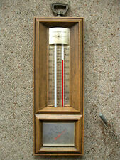 Vintage Springfield Weather Station Indoor/Outdoor Temperature Humidity W/Probe