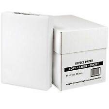 More details for printing paper a4 80gsm white plain printer sheet reams craft school stationary