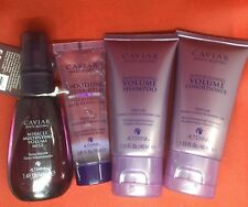 Travel size ALTERNA CAVIAR SHAMPOO, CONDITIONER,  HYDRA-GELEE and  VOLUME MIST