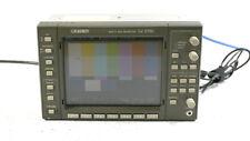 Leader LV5750 Múltiple Sdi Ondas Monitor Forma de Onda Vectorscope