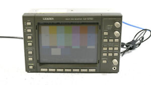 Leader LV5750 Multi SDI Waveform Monitor Waveform Vectorscope