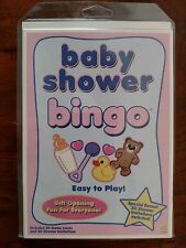 BABY SHOWER BINGO - 20 Game Cards & 20 Shower Invitations - NEW - Free S/H!!