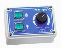 Manueller Drehzahlregler für Wandhauben Gastro Regler Ventilator 230V REM10A NEU