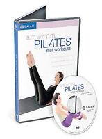 A.M./P.M. Pilates Mat Workout (DVD, 2002)
