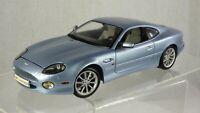Maisto 1/18 Aston Martin DB7 Vantage Blue V12 Coupe Toy Model Car Vintage Old